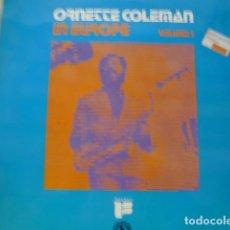 Discos de vinilo: ORNETTE COLEMAN IN EUROPE VOLUME I BLACK LION RECORDS/DISCOPHON J-4265 LP 1975 SPAIN. Lote 83219564