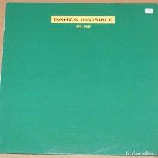 Dischi in vinile: DANZA INVISIBLE - 1984 - 1989 - TWINS 1991. Lote 83282320