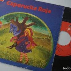 Discos de vinilo: SINGLE CAPERUCITA ROJA - CASAS AUGÉ (BASF). Lote 83284444