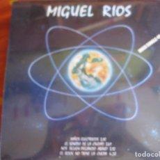 Discos de vinilo: MIGUEL RIOS MAXI SINGLE NIÑOS ELECTRICOS/ EL SONIDO DE LA CIUDAD +2 PRECINTADO DE FABRICA. Lote 83286024