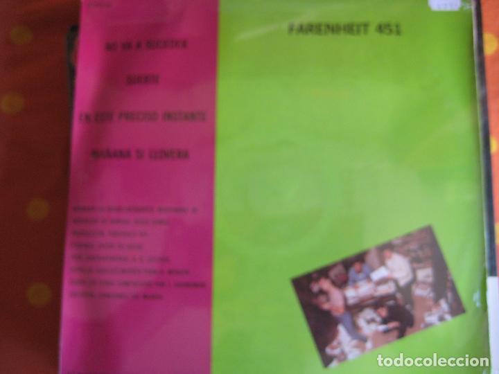 Discos de vinilo: FARENHEIT 451 MAXI MR 1983 - no va a suceder/ suerte +2 PISTONES - WAQ - MOVIDA MADRILEÑA - Foto 2 - 83286268