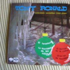 Discos de vinilo: TONY RONALD EP EMI 1966 CANCIONES NAVIDEÑAS EL FORASTERO +3 . Lote 83341460