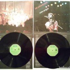 Discos de vinilo: ANTIGUO LP DOBLE - LUIS EDUARDO AUTE - ENTRE AMIGOS - DISCOS - MOVIEPLAY. Lote 140423834