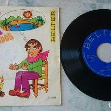 Discos de vinilo: MANUEL DE GÓMEZ Y SUS CANSADOS: COSTA AZUL / AY! QUÉ FRIO (BELTER 1969). Lote 83346640