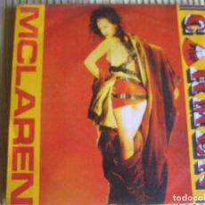 Discos de vinilo: MALCOLM MCLAREN SG VIRGIN 1984 CARMEN +1 SEX PISTOLS BOW BOW BOW . Lote 83348120