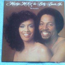 Discos de vinilo: MARILYN MCCOO AND BILLY DAVIS JR,THE TWO OF US EDICION USA DEL 77. Lote 83353352