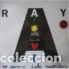 Discos de vinilo: RAY - NO SIEMPRE DUELE RECORDAR . MAXI SINGLE . 1993 DRO. Lote 33542033