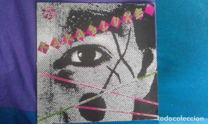 KAKA DE LUXE & PARAISO, MAXI LP, CHAPA 1982 (Música - Discos - LP Vinilo - Grupos Españoles de los 70 y 80)