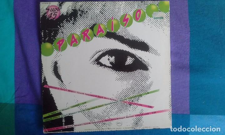 Discos de vinilo: KAKA DE LUXE & PARAISO, MAXI LP, CHAPA 1982 - Foto 2 - 83357152