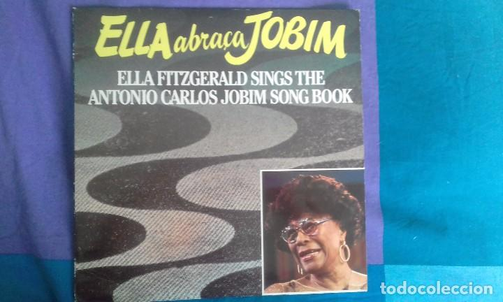 ELLA ABRACA JOBIM, ELLA FITZGERALD SING THE A.C. JOBIM SONG BOOK- . DOBLE LP PABLO RECORDS 1981 (Música - Discos - LP Vinilo - Jazz, Jazz-Rock, Blues y R&B)