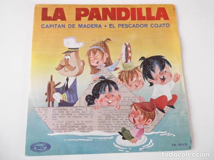 LA PANDILLA - CAPITÁN DE MADERA (Música - Discos - Singles Vinilo - Música Infantil)