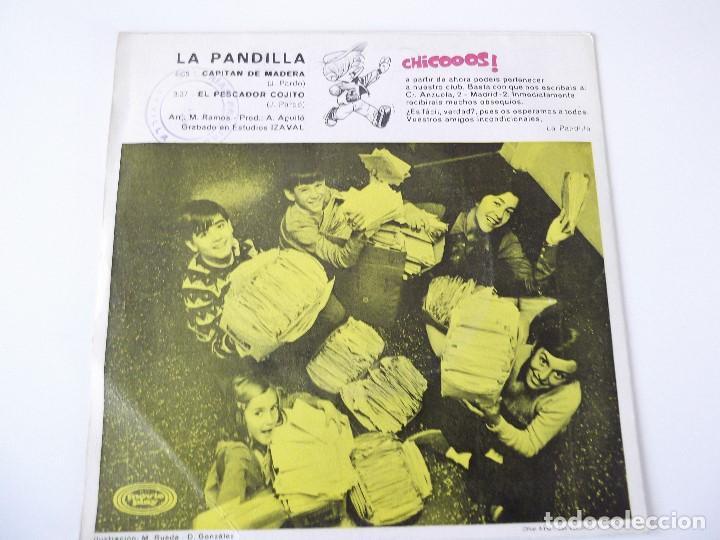 Discos de vinilo: LA PANDILLA - Capitán de madera - Foto 2 - 83365892