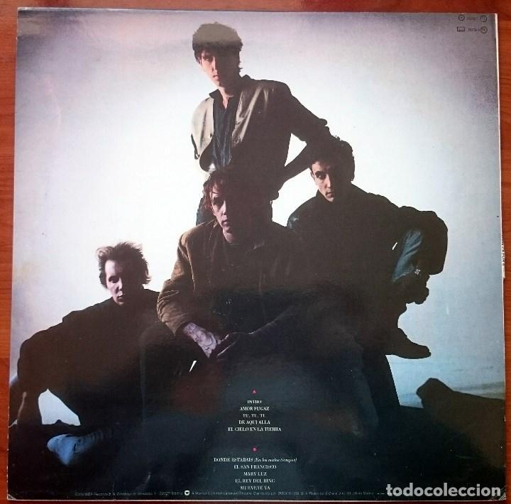 Discos de vinilo: La Unión: 4x4, LP WEA 242106-1. Spain, 1987. EX/VG - Foto 4 - 83375708