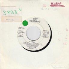 Discos de vinilo: BVSMP / ANYTIME (SINGLE PROMO 1988) SOLO CARA A. Lote 83395836