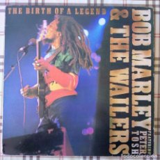 Discos de vinilo: BOB MARLEY & THE WAILERS FEATURING PETER TOSH BIRTH OF A LEGEND SKA ROCKSTEADY REGGAE LP. Lote 96865924