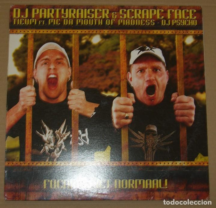 DJ PARTYRAISER & SCRAPE FACE - FOCKING NIET NORMAL! - 2008 RIGE