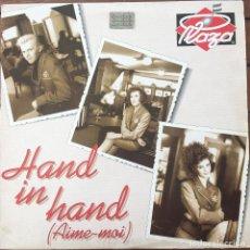 Discos de vinilo: PLAZA - HAND IN HAND . 1990 BELGIUM . Lote 83411100
