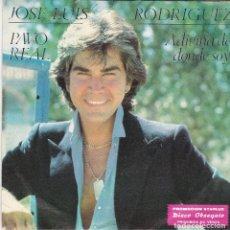 Discos de vinilo: SINGLE JOSÉ LUIS RODRÍGUEZ EL PUMA. PAVO REAL. 1981 SPAIN. DISCO PROMO PROBADO Y BIEN, COMO NUEVO. Lote 83411284