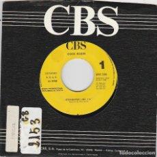 Discos de vinil: COCK ROBIN / STRAIGHTER LINE (SINGLE PROMO 1990) SOLO CARA A. Lote 83450828