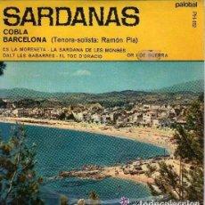 Discos de vinilo: COBLA BARCELONA - ES LA MORENETA + 3 SARDANAS - EP PALOBAL 1967. Lote 83460556