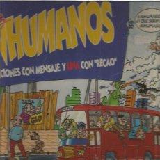 Discos de vinilo: INHUMANOS . Lote 83467876