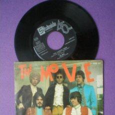 Discos de vinilo: THE MOVE -FLOWERS IN THE RAIN +1- SINGLE STATESIDE ESPAÑA 1967 ROY WOOD ELO E.L.O. UK PSYCH WIZZARD. Lote 83476420