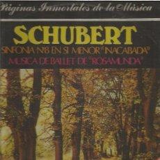 Discos de vinilo: SCHUBERT. Lote 83476772