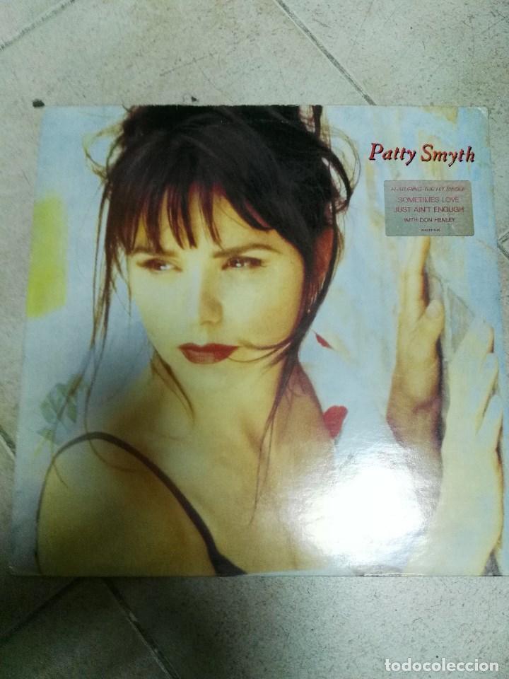 LP PATTY SMYTH (Música - Discos - LP Vinilo - Pop - Rock - New Wave Extranjero de los 80)