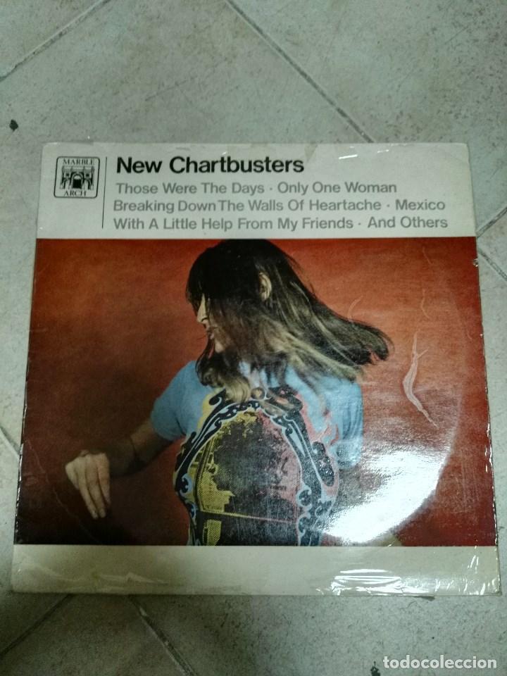 LP NEW CHARTBUSTERS (Música - Discos - LP Vinilo - Pop - Rock - New Wave Extranjero de los 80)