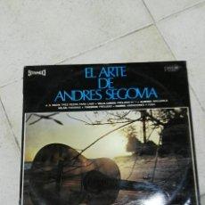 Discos de vinilo: LP EL ARTE DE ANDRES SEGOVIA. Lote 83481220