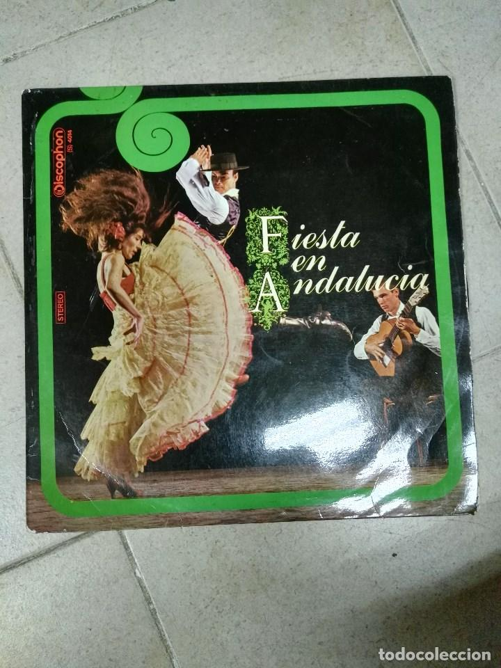 LP FIESTA EN ANDALUCIA (Música - Discos - LP Vinilo - Flamenco, Canción española y Cuplé)