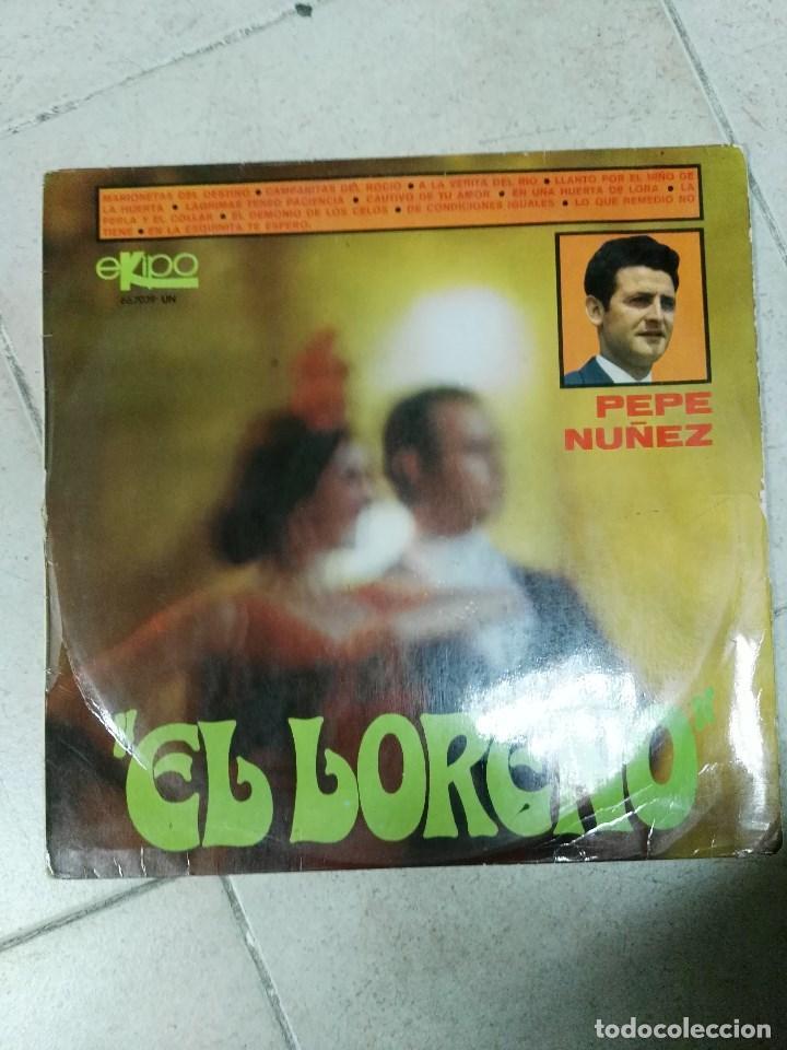 LP PEPE NUÑEZ EL LOREÑO (Música - Discos - LP Vinilo - Flamenco, Canción española y Cuplé)