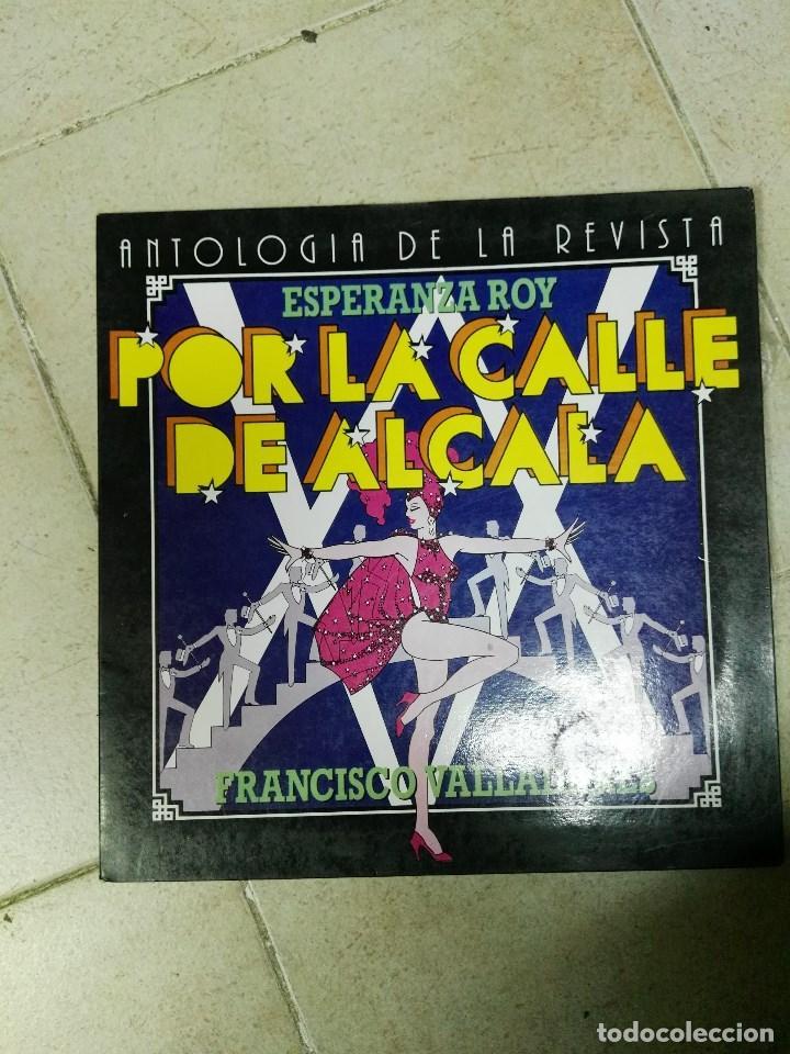 LP ANTOLOGIA DE LA REVISTA POR LA CALLE DE ALCALÁ (Música - Discos - LP Vinilo - Flamenco, Canción española y Cuplé)