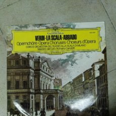 Discos de vinilo: LP VERDI. Lote 83486704