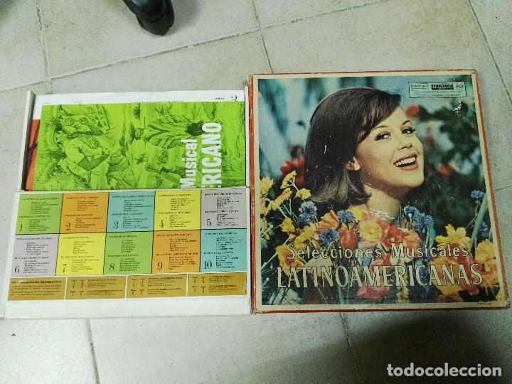 10 LP SELECCIONES MUSICALES LATINOAMERICANAS (Música - Discos - LP Vinilo - Grupos y Solistas de latinoamérica)