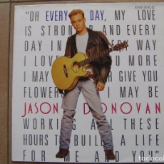 Discos de vinilo: JASON DONOVAN - EVERY DAY (I LOVE YOU MORE) - PWL RECORDS1989 - MAXI -P. Lote 83489872