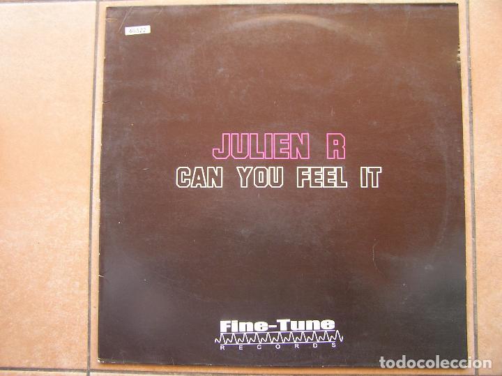JULIE R - CAN YOU FEEL IT - FINE -TUNE RECORDS 2005 - MAXI - P (Música - Discos de Vinilo - Maxi Singles - Electrónica, Avantgarde y Experimental)