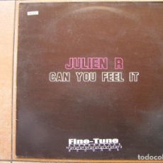 Discos de vinilo: JULIE R - CAN YOU FEEL IT - FINE -TUNE RECORDS 2005 - MAXI - P. Lote 83490092