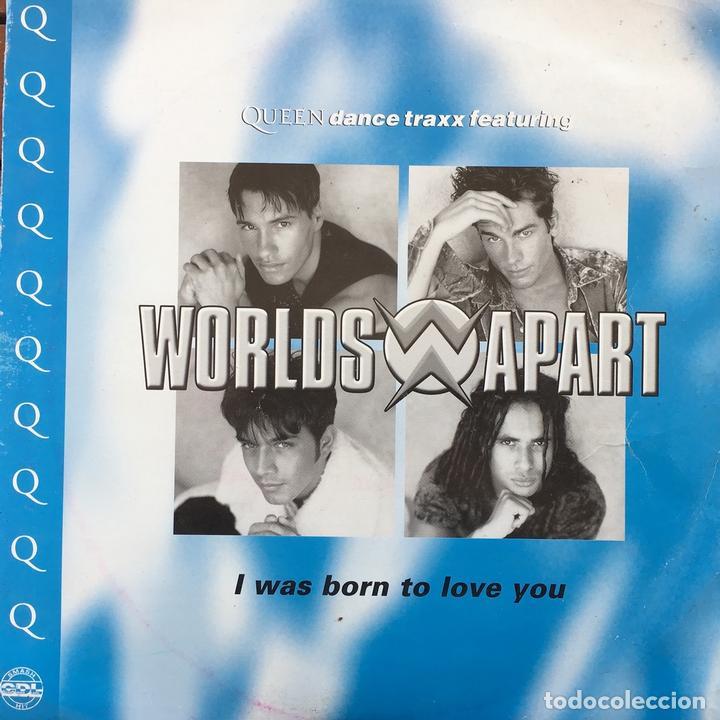 WORLDS APART - I WAS BORN TO LOVE YOU . 1996 UK (Música - Discos de Vinilo - Maxi Singles - Pop - Rock Extranjero de los 90 a la actualidad)