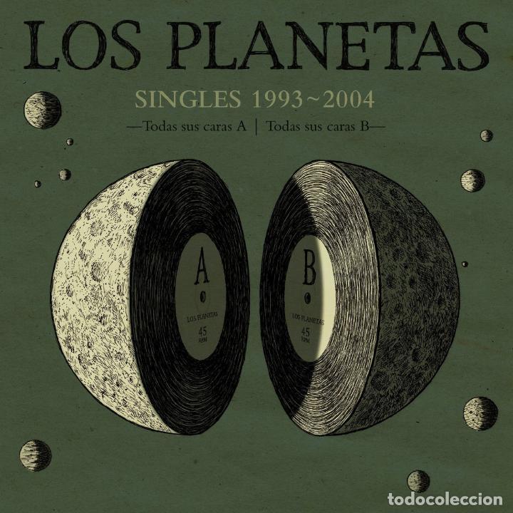 LOS PLANETAS * SINGLES BOX SET VINILO DELUXE * 21 VINILOS 10 PULGADAS + CD * NUMERADA * PRECINTADA (Música - Discos de Vinilo - Maxi Singles - Grupos Españoles de los 90 a la actualidad)