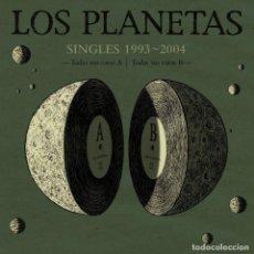 Discos de vinilo: LOS PLANETAS * SINGLES BOX SET VINILO DELUXE * 21 VINILOS 10 PULGADAS + CD * NUMERADA * PRECINTADA. Lote 105389047
