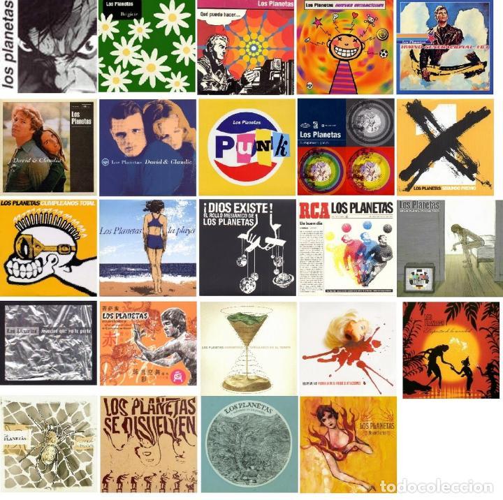 Discos de vinilo: LOS PLANETAS * SINGLES BOX SET VINILO DELUXE * 21 vinilos 10 pulgadas + CD * Numerada * Precintada - Foto 2 - 105389047