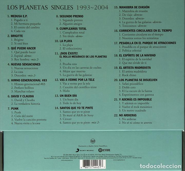 Discos de vinilo: LOS PLANETAS * SINGLES BOX SET VINILO DELUXE * 21 vinilos 10 pulgadas + CD * Numerada * Precintada - Foto 3 - 105389047