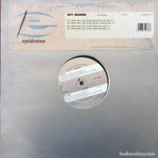 Discos de vinilo: BOY GEORGE - WHEN WILL YOU LEARN . 1997 GERMANY. Lote 83492532