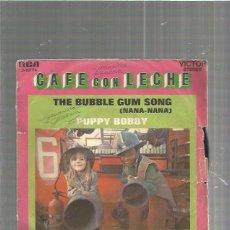 Discos de vinilo: CAFE CON LECHE. Lote 83558572