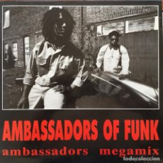 Discos de vinilo: AMBASSADORS OF FUNK - ANOTHER SIDE OF YOU . 1989 GRIND . Lote 83567748