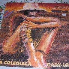 Discos de vinilo: GARY LOW LA COLEGIALA SPECIAL 1987 OLD COFFE REMIX. Lote 83571004
