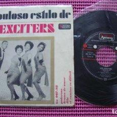 Discos de vinilo: LOS EXCITERS . EL FABULOSO ESTILO - PODEROSO, - EP - UNITE. Lote 83580800