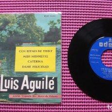 Discos de vinilo: LUIS AGUILE CON RITMO DE TWIST - EP. Lote 83583208