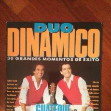 Discos de vinilo: DUO DINÁMICO 30 ÉXITOS CBS 1990. Lote 83583254